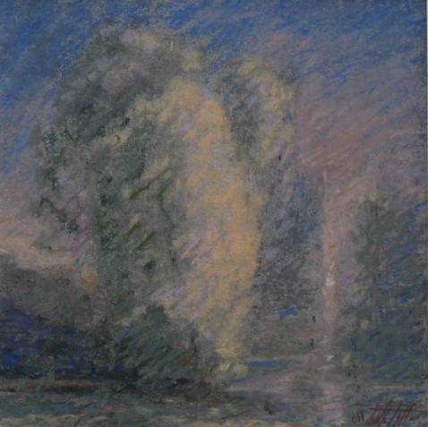 Pastel on cardborad 15x15 - 2010