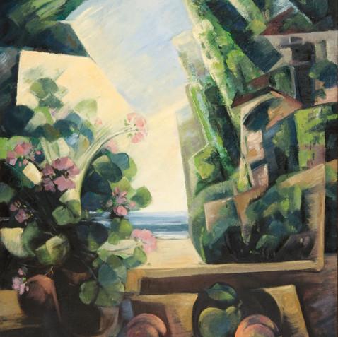Still life - Oil on canvas - 73x92 - 2004
