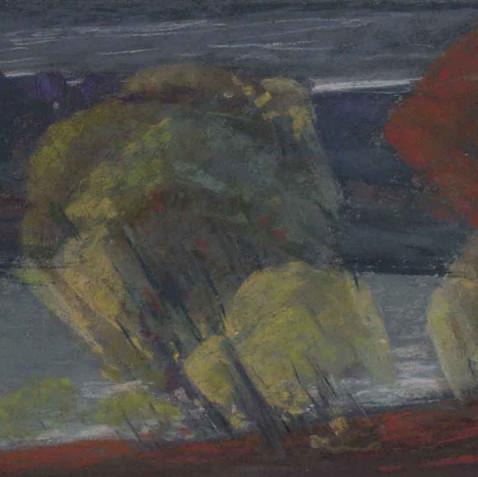 Pastel on cardborad - 21x40 - 2009
