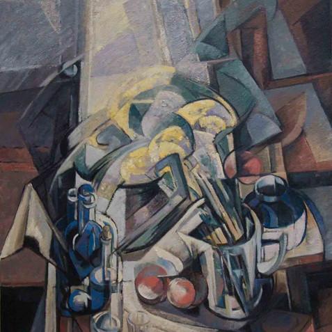 Still life - Oil on canvas -130x97 - 2009