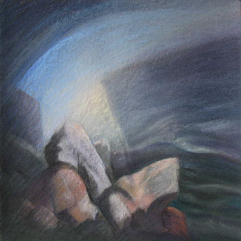 Pastel on cardborad - 80x80 - 2011