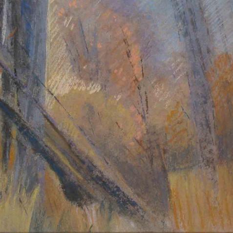 Pastel on cardborad - 60X15 - 2010