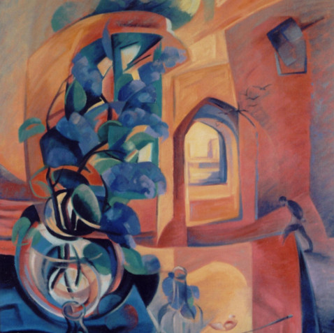 Oil on canvas - 116x81 - 2000