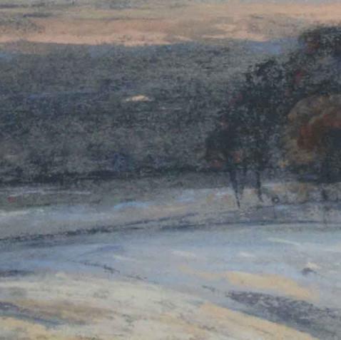 Pastel on cardborad -11x40 - 2010