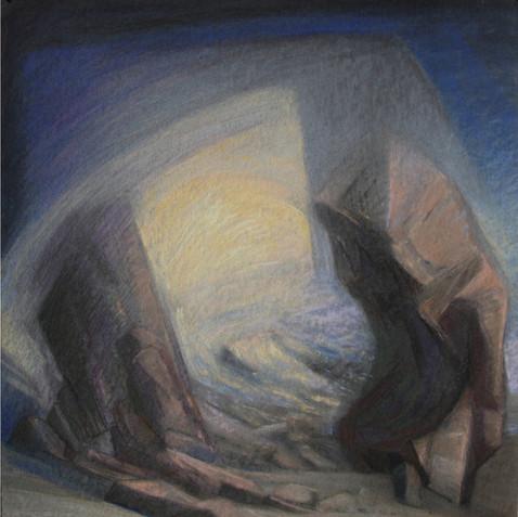Pastel on cardborad - 80x80 - 2010