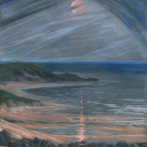 Pastel on cardborad - 110X73 - 2008