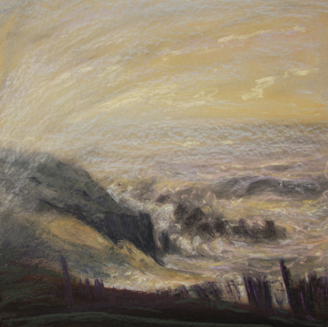 Pastel on cardborad - 70x70 - 2010