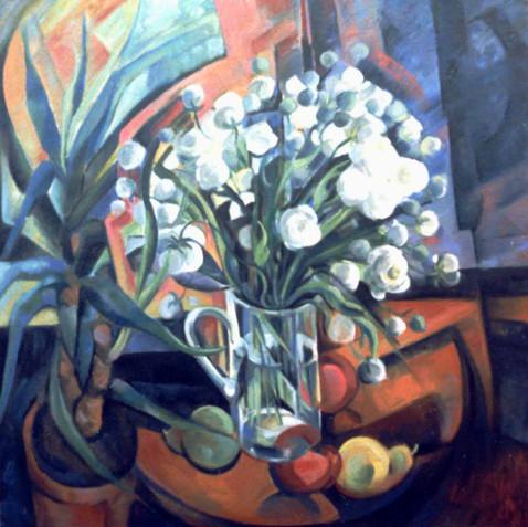 Still life - Oil on canvas - 80x80 - 2001