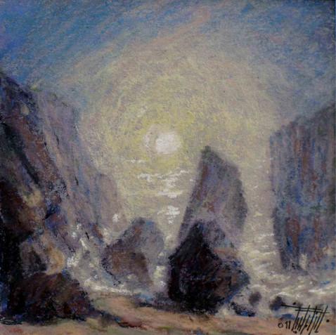 Pastel on cardborad - 40X40 - 2011
