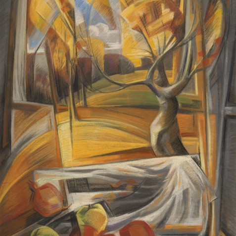 Pastel on cardboard - 110x73 - 2003