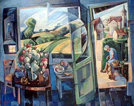 Velleminfroy - Oil on canvas - 200x250 - 2000
