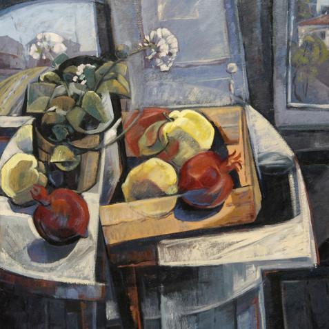 Still life - Oil on canvas - 73x92 - 2005