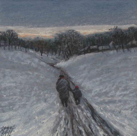 Pastel on cardborad - 30X30 - 2011