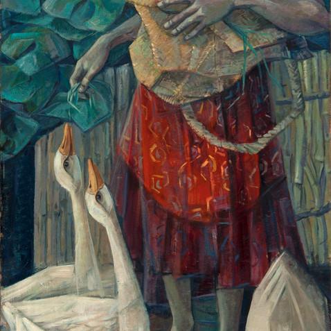Oil on canvas - 200X90 - 1978