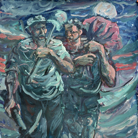 Oil on canvas - 140x110 - 1976