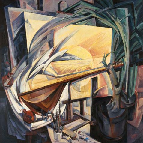 Oil on canvas - 150x150 - 2006