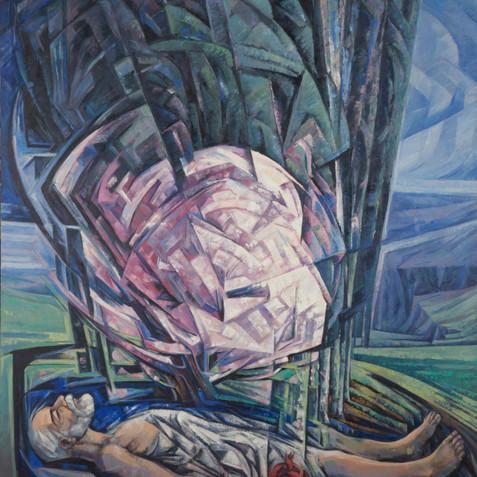 Eternal soul - Oil on canvas - 150x200 - 2005
