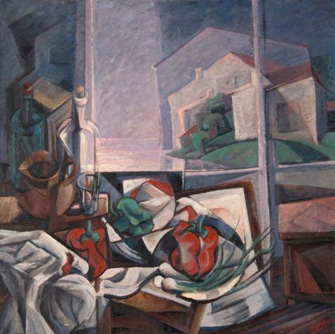 Still life - Oil on canvas - 100x100 - 2005