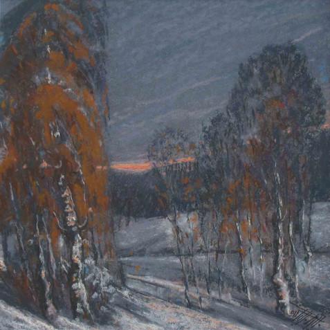 Pastel on cardborad - 30X30 - 2010