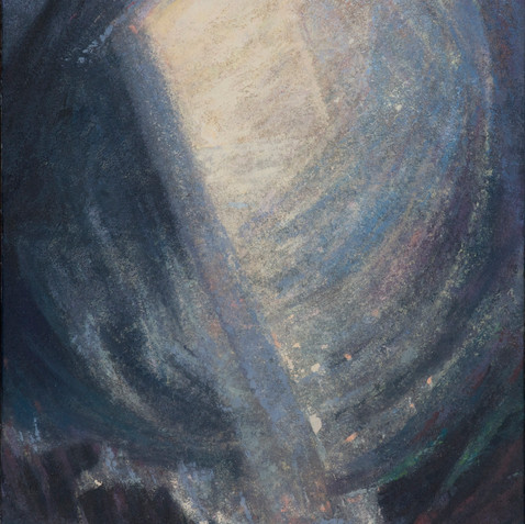 Well of light - Oil on canvas - 60x120 2009