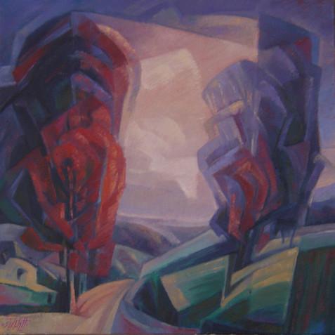 Oil on canvas - 40x40 - 2005
