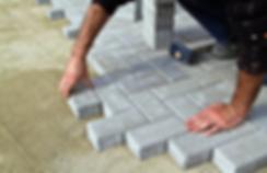 Paver block installation