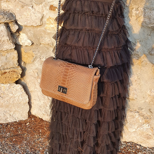 Sac Chaine Cuir Made in Italy