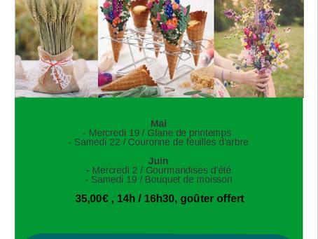 Nouveau Programme des cours d'art floral à l'Ecole du Bouquet