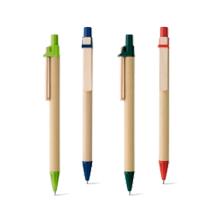 Bolígrafo Cartón y madera