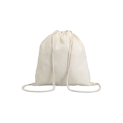 Bolsa cuerdas algodón