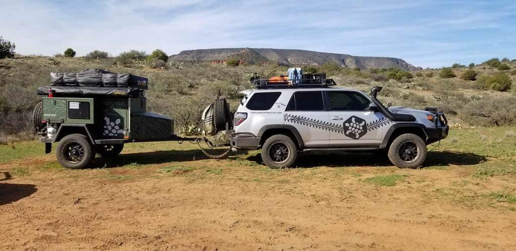 SOLD- 2018 Turtleback Expedition Trailer