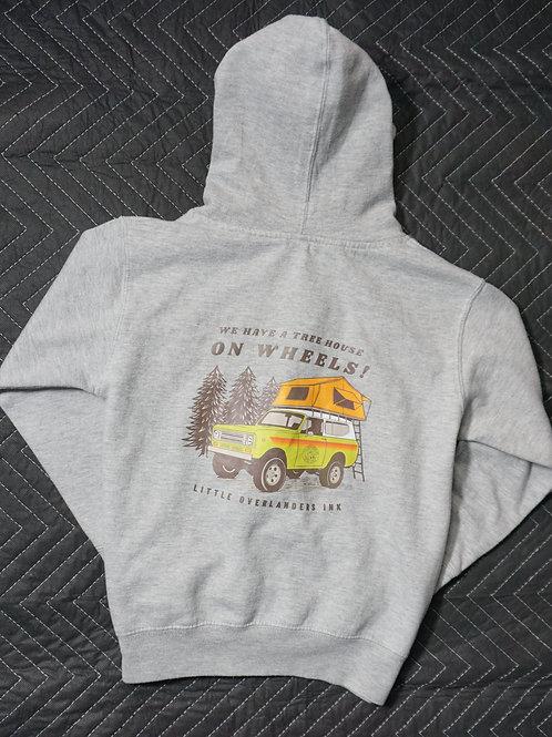 Tree House Hooded Zip Sweatshirt