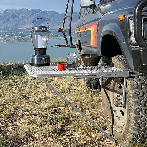 Aluminum Tailgater Tire Table