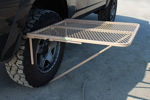 Large Steel TailGater Tire Table