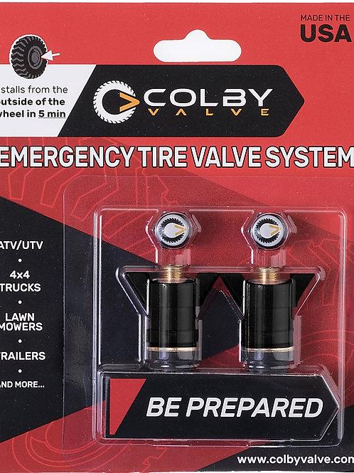 Colby Emergency Valve 2-Pack