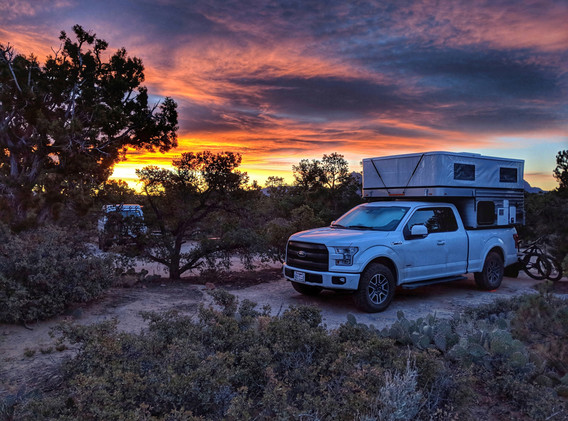 Truck Camping| Four Wheel Campers | Adventure UP Overland