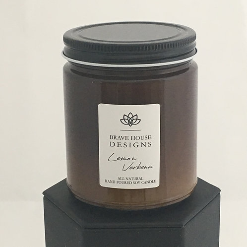 Lemon Verbena Soy Candle-9 oz