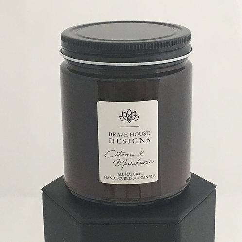 Citron & Mandarin Soy Candle-9 oz