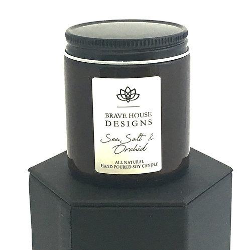 Sea Salt & Orchid Soy Candle-4 oz