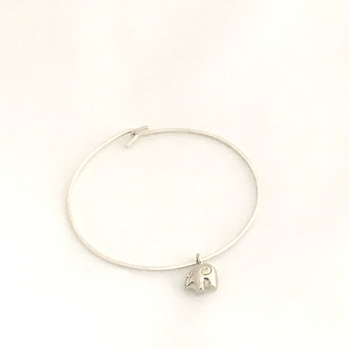 Sterling Silver Bracelet-Zuni Bear