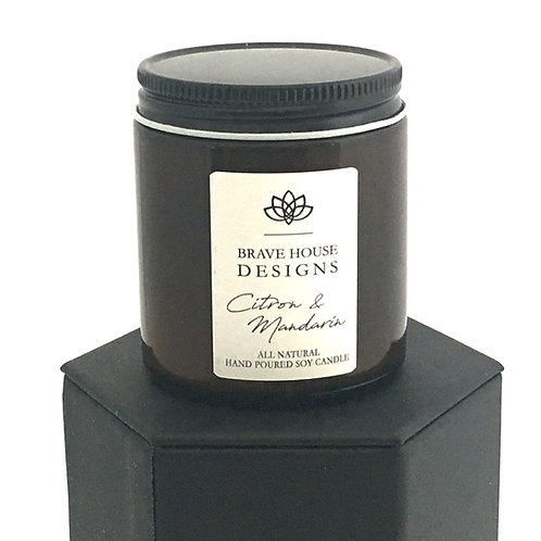 Citron & Mandarin Soy Candle-4 oz