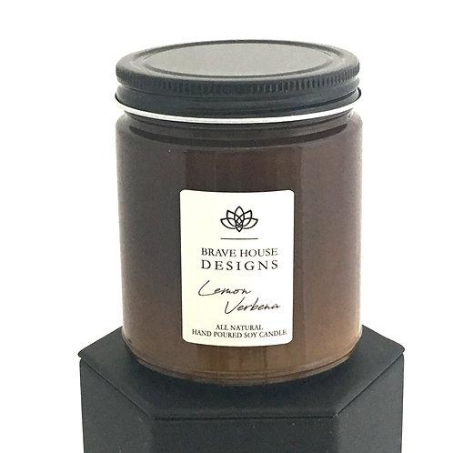 Lemon Verbena Soy Candle-9 oz
