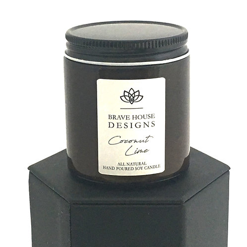 Coconut Lime Soy Candle-4 oz