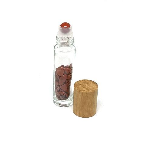 Semi-Precious Stone Roller Ball-Red Jasper