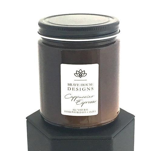 Cappuccino Espresso Soy Candle-9 oz