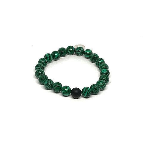 Malachite & Black Onyx Bracelet