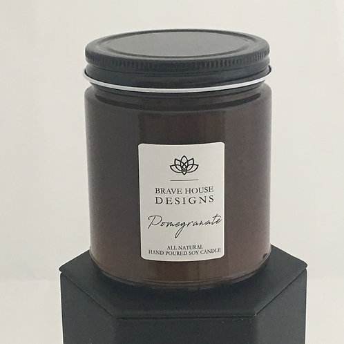 Pomegranate Soy Candle-9 oz