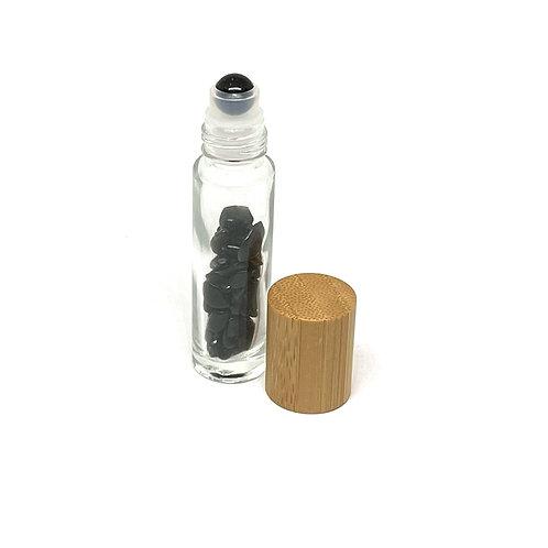 Semi-Precious Stone Roller Ball-Black Onyx