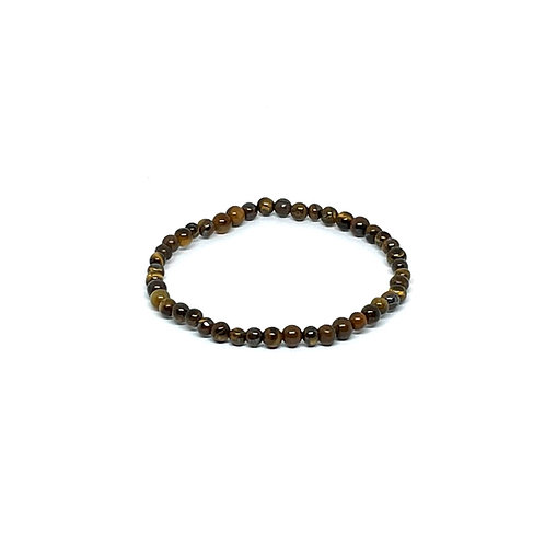Semi-Precious Stone Bracelet-Tiger's Eye