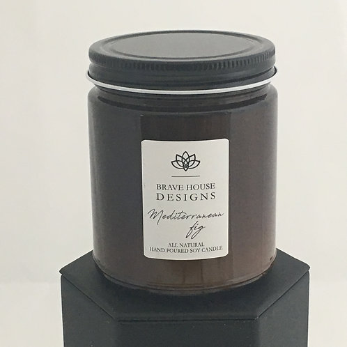 Mediterranean Fig Soy Candle-9 oz